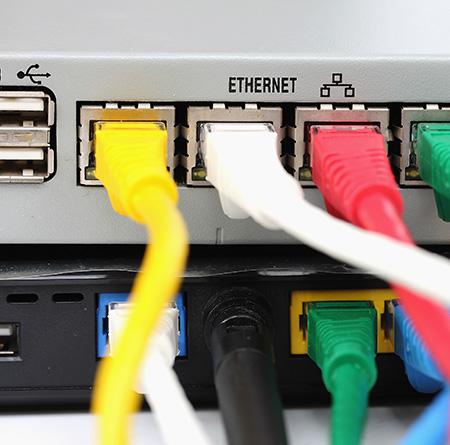 Installation de réseau média à Mons