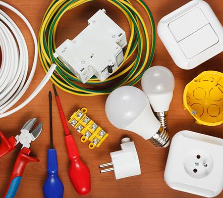 Vente de produits électriques à Mons